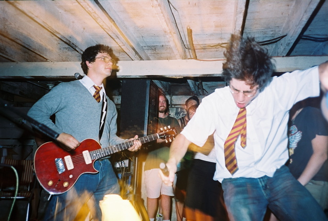 July 21, 2004, 4126 N. Commercial basement, Portland, OR. Photo by Nathan Backous.