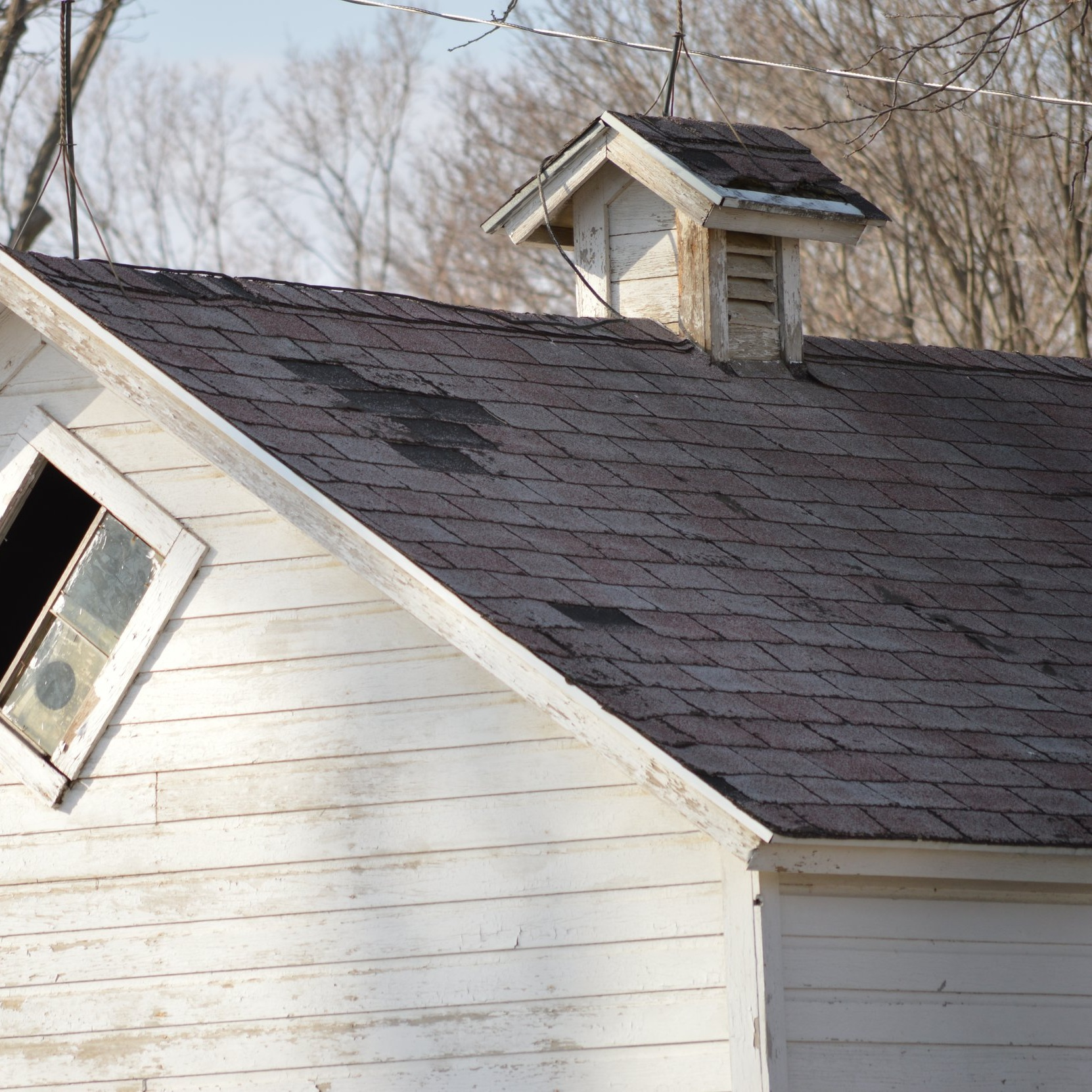 We can replace your roof an paint your home exterior, as well!