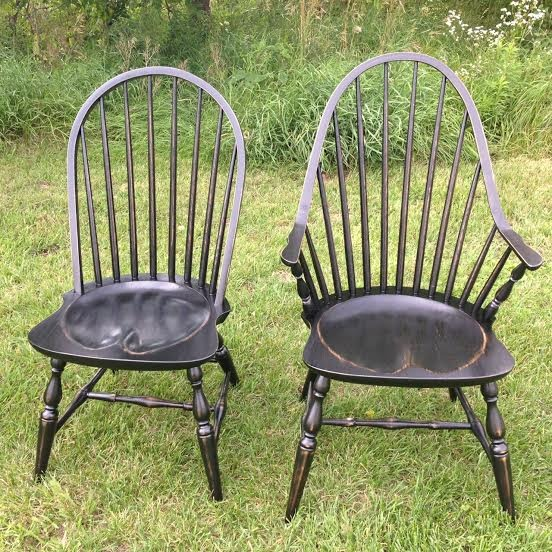 repro black windsor chairs.jpg
