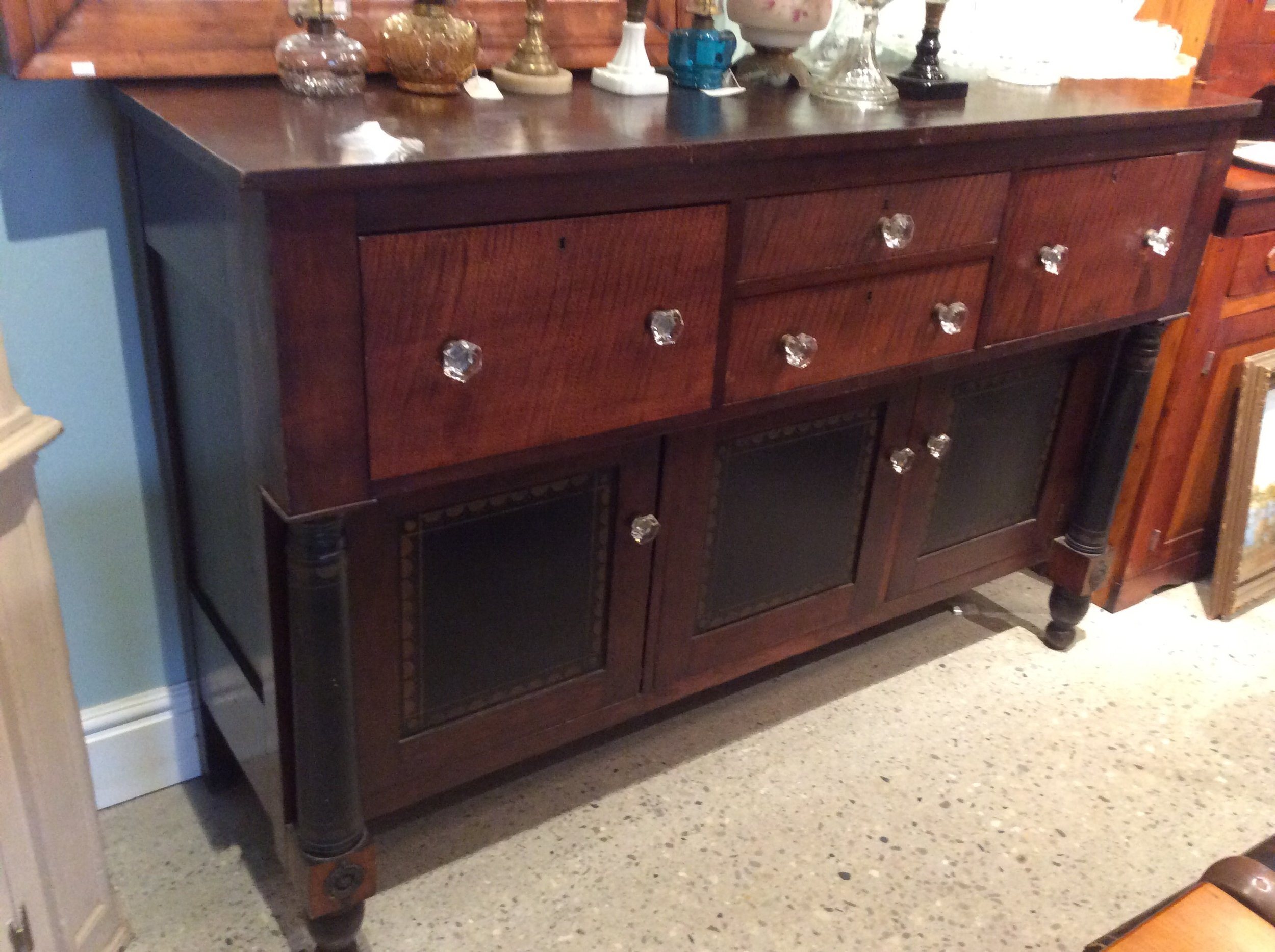 cherry and tiger maple sideboard.jpg