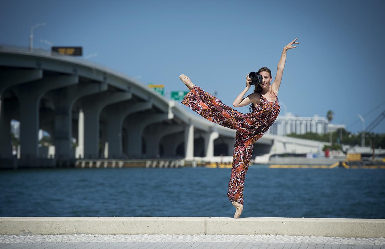 Dancer with Camera