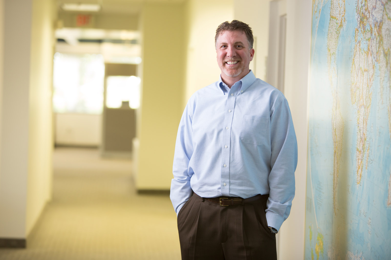 """Meet Dave Whittaker, Chief Operating Officer. """"We don't take a cookie cutter approach. Every business, project, and goal is different and my job is to make sure that your supply chain uniquely fits your needs."""""""