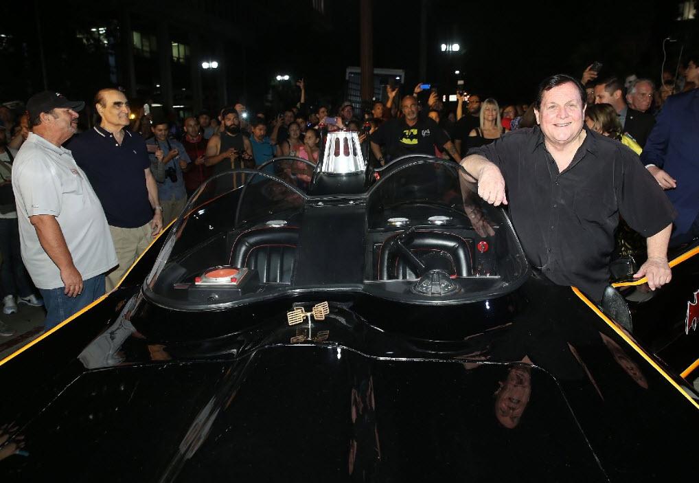 Robin and the Batmobile