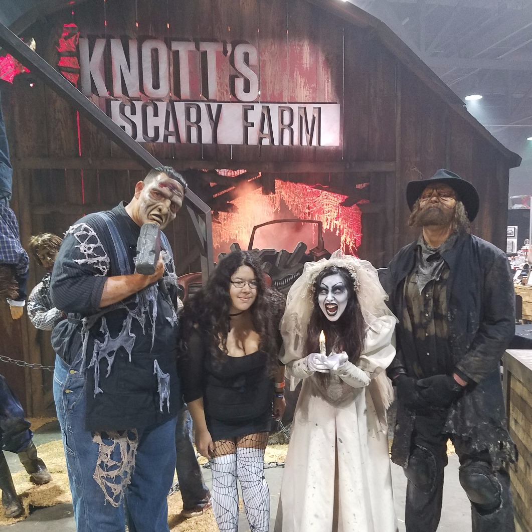 Me with Scare Actors