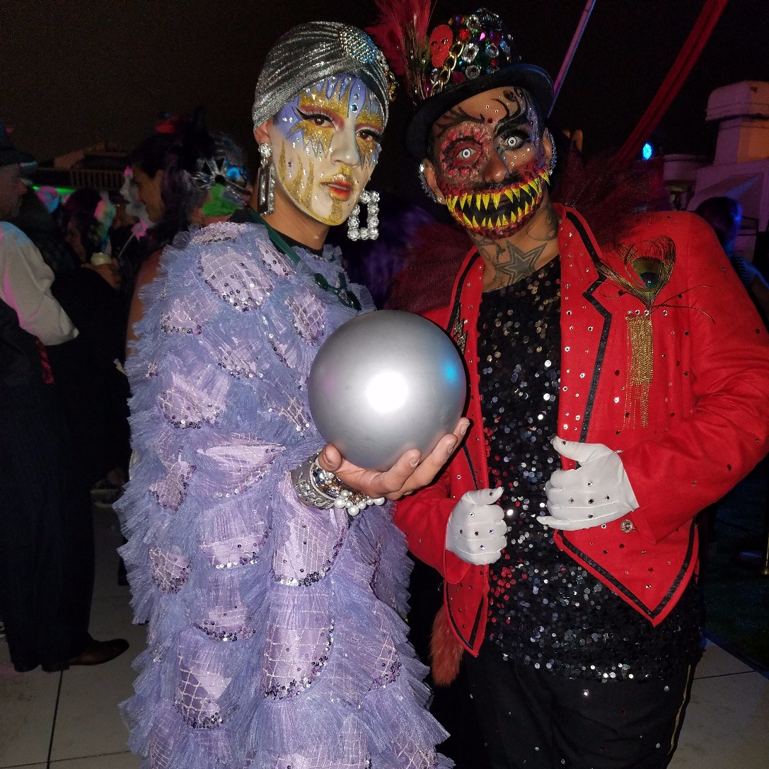 Seer and Clown Ring Master Cosplay