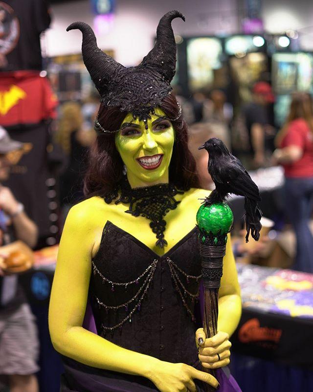 Maleficent @wondercon #Cosplay #Disney #Maleficent #SleepingBeauty #Nerd #NerdLife #Anaheim #WonderCon #WonderCon2019 #PeopleofCon