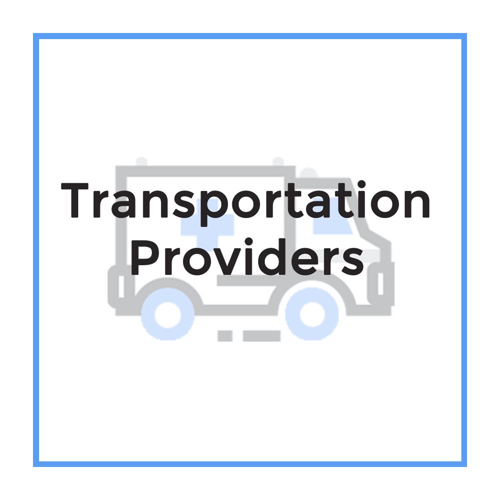 Uber    NEMT Providers