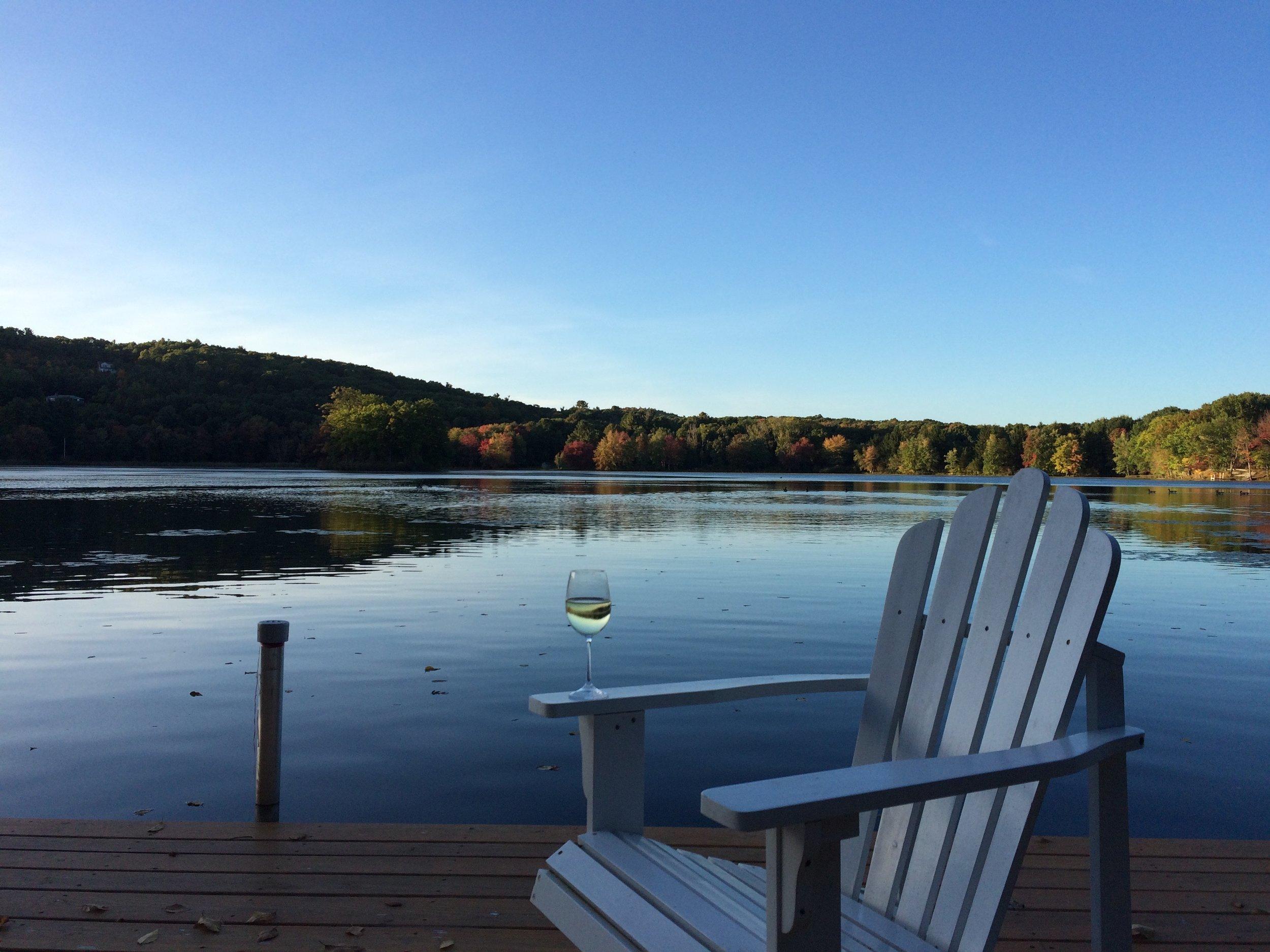 Evening on Twin Island Lake 10-3-2014.jpg