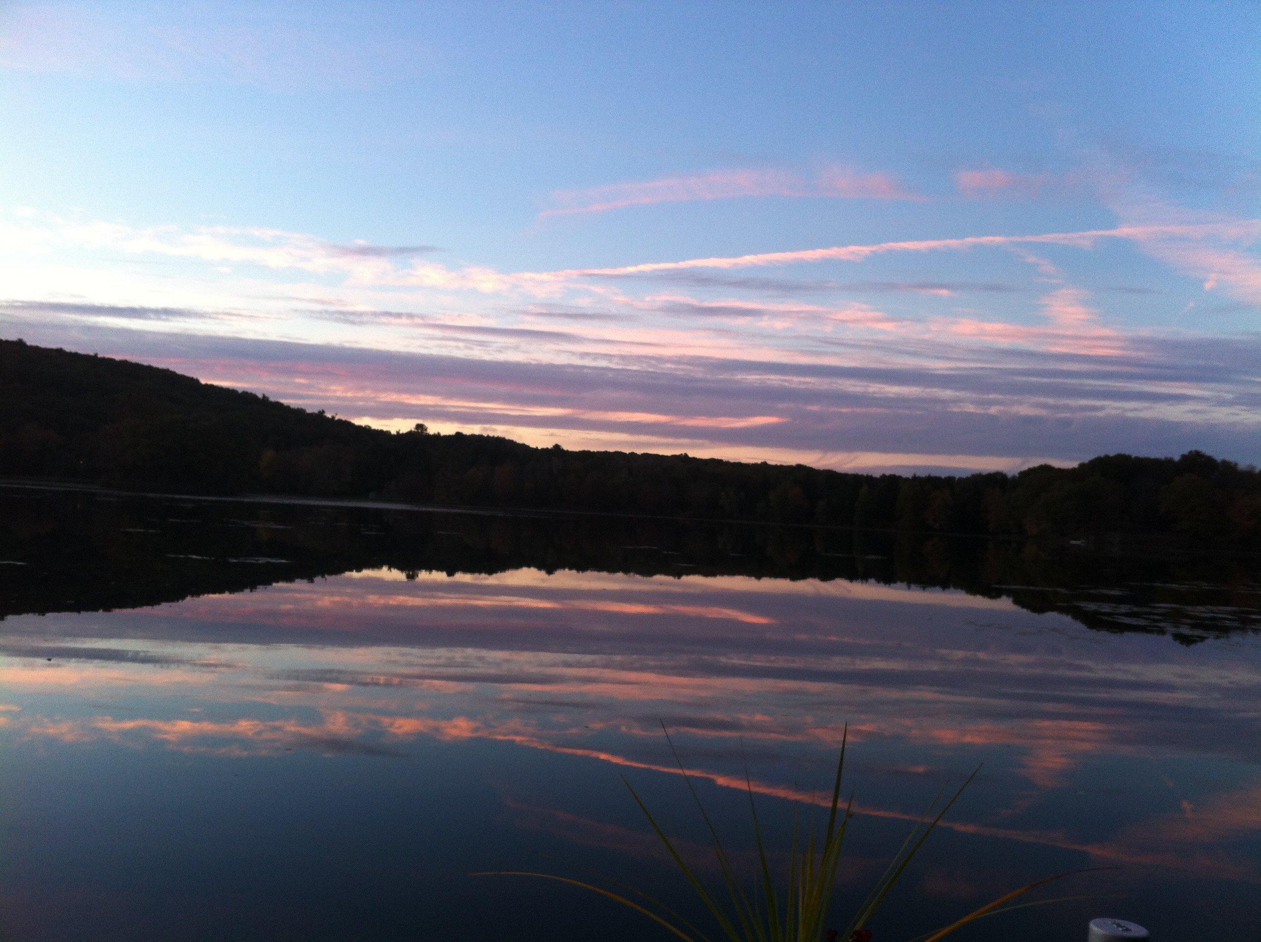Sunset Twin Island Lake 10-2013.jpg