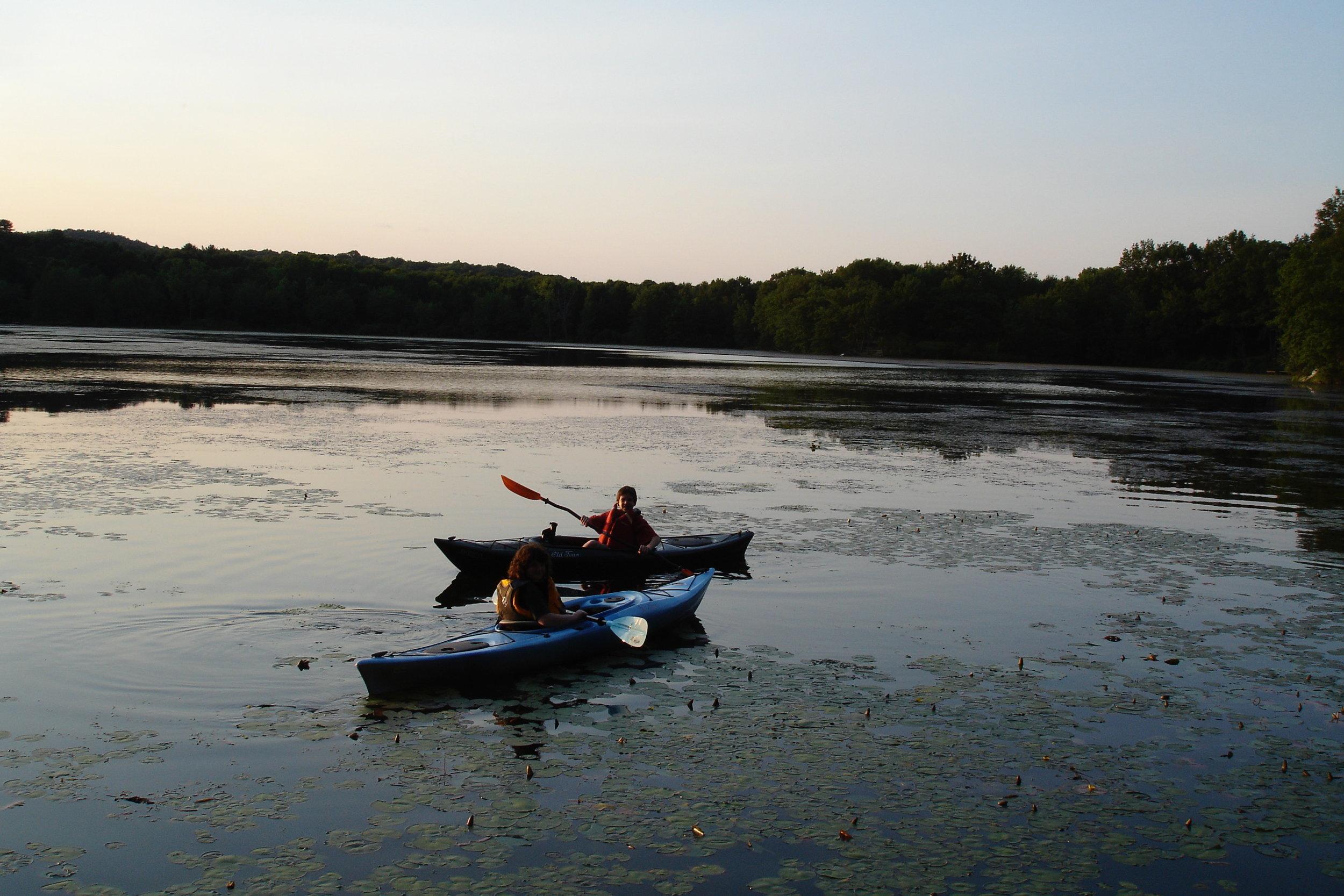 Evening Kayak on TIL 7-2008.jpg