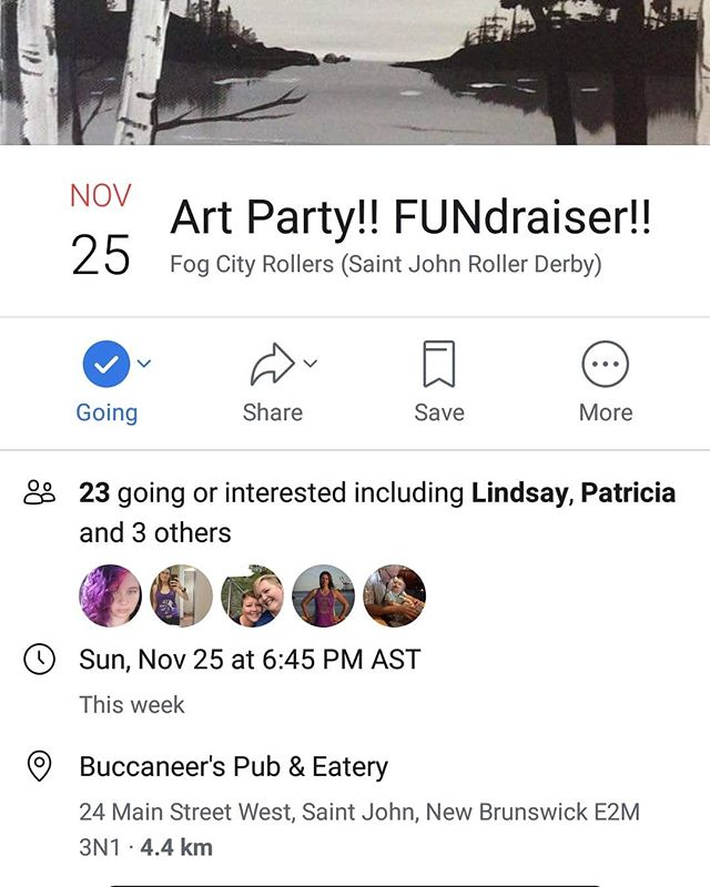 A couple spaces left for our Art Party night. Swipe right to see what we're gonna paint! 🎨🖌️
