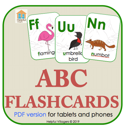 ABC Flashcards PDF version. download and use it right away on your tablet or smartphone!.