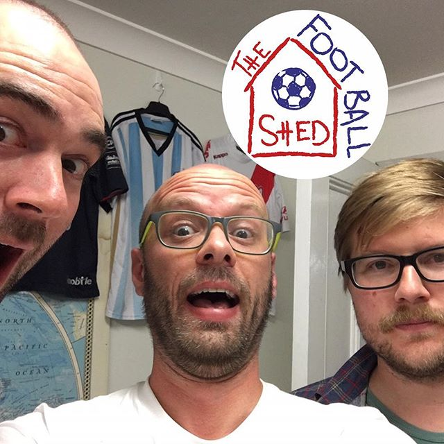 """New Shed episode """"Ruben Dawsons-Creek"""" out now in the usual places. Get on it! ⚽️🎧👍 . . . . . . #footballshed #podcast #premierleague #championship #⚽️ #soccer #football #sport #instafootball #instasoccer #fans -#chat #nonsense #applepodcasts #spotify #stitcher #podbean #listen #beer #wine"""