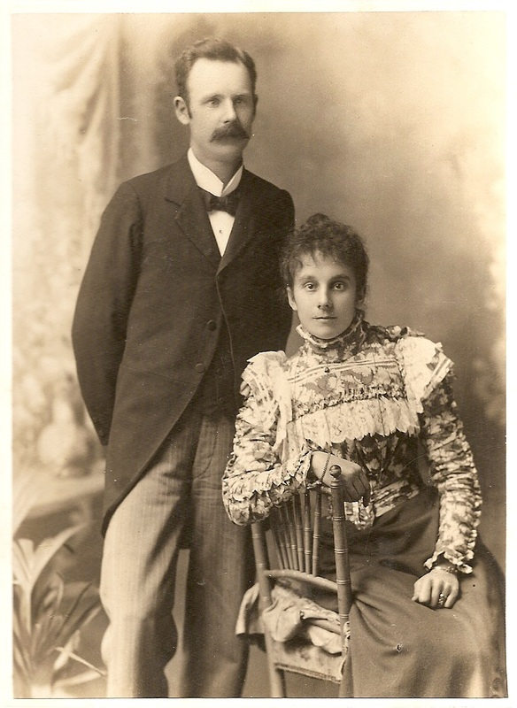 Bruce McGregor Campbell and his wife Lilian Grace (nee Walter)