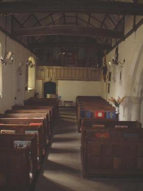 Interior of St Mary the Virgin, Ipsden
