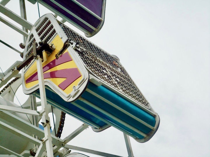The infamous Zipper. Try it if you really consider yourself a daredevil!