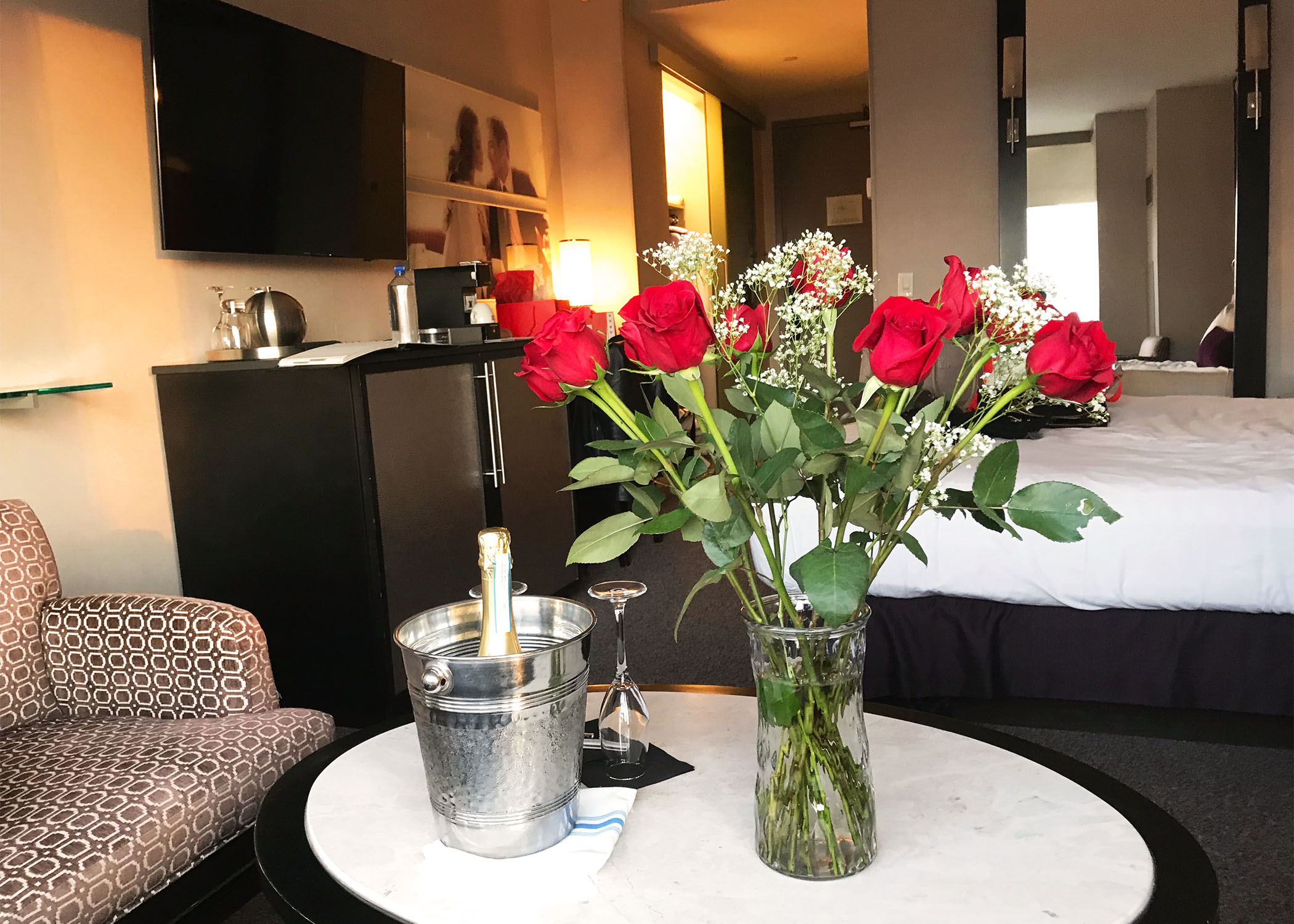 Valentine's Day at The Gansevoort Hotel