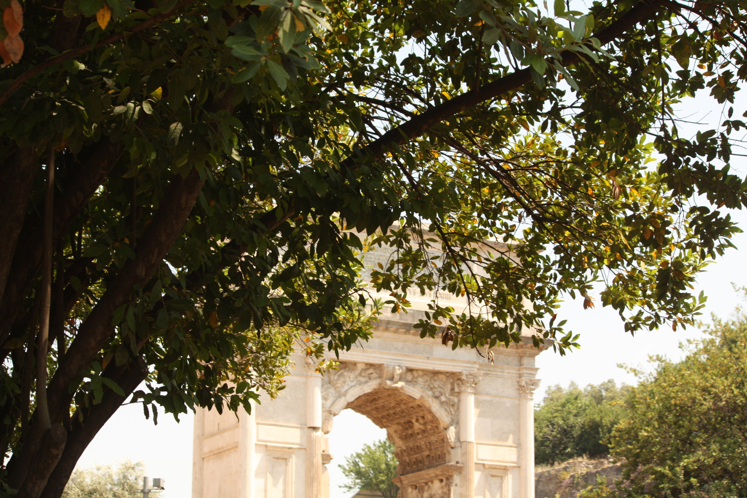 Roman Road, Rome, Italy: June 2017