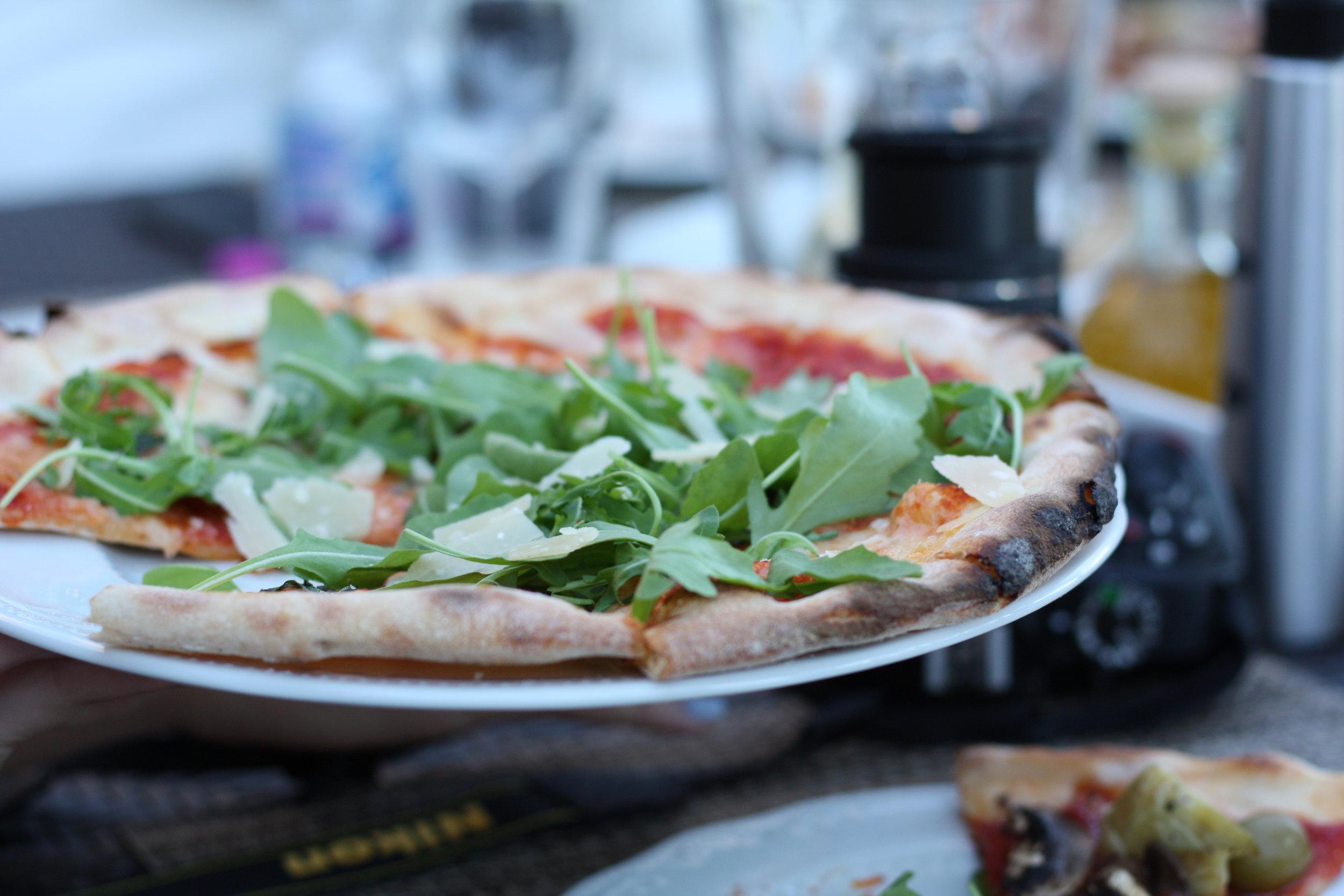 Pizza in Tuscany, Italy: June 2017
