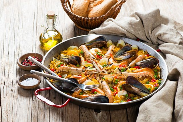 We're fortunate to have a team that has spent copious amounts of time in Europe, and as we wrap up warm for our chilly winter, we're all longing for those summer nights in Spain with a fresh seafood paella! We missed it so much that this beautiful dish made its way onto our shared Mediterranean Feast menu, so our guests can enjoy it too! ⁠ .⠀⁠ .⠀⁠ .⠀⁠ .⠀⁠ .⠀⁠ #myprivatechefau #myprivatechefau #finedining #privatechef  #cateringgoldcoast #brisbanefood #goldcoast #goldcoastlife #instagood #thisisqueensland #wearegoldcoast #ourgoldcoast #goldcoastlife #goldcoastbusiness #goldcoastrestaurants #goldcoastfood #foodsgoldcoast #goldcoastfoodies #goldcoasteats #gcfood #catering #goldcoastcatering #goldcoastcateringandevents #cateringgoldcoast #goldcoastcaterer #goldcoastcaterers⠀#seafoodpaella⁠