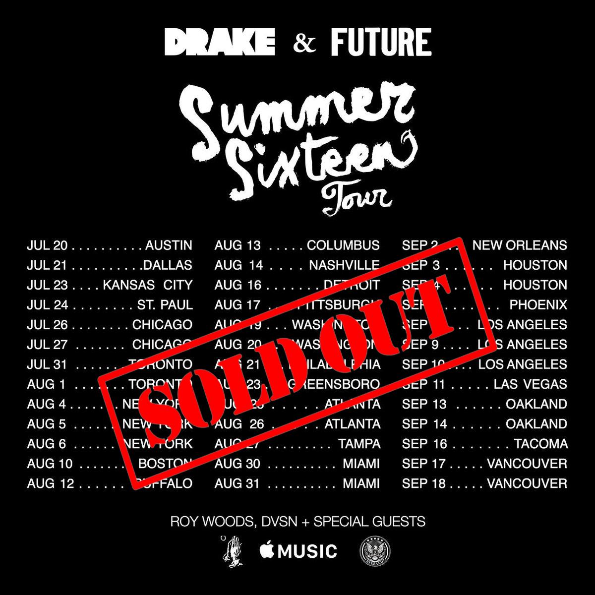 Drake &  FUTURE  ft. Roy Wood$, DVSN