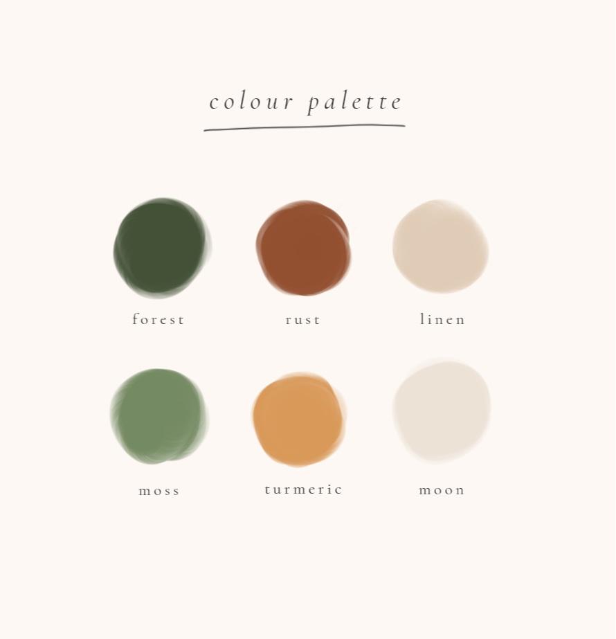 Colour Palette - autumn inspiration