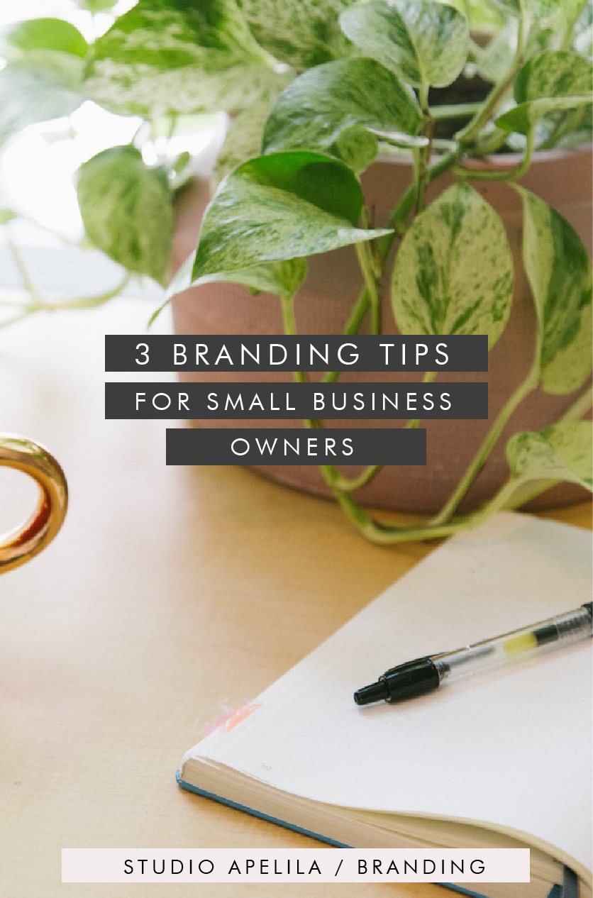 3 Branding Tips for Small Business Owners