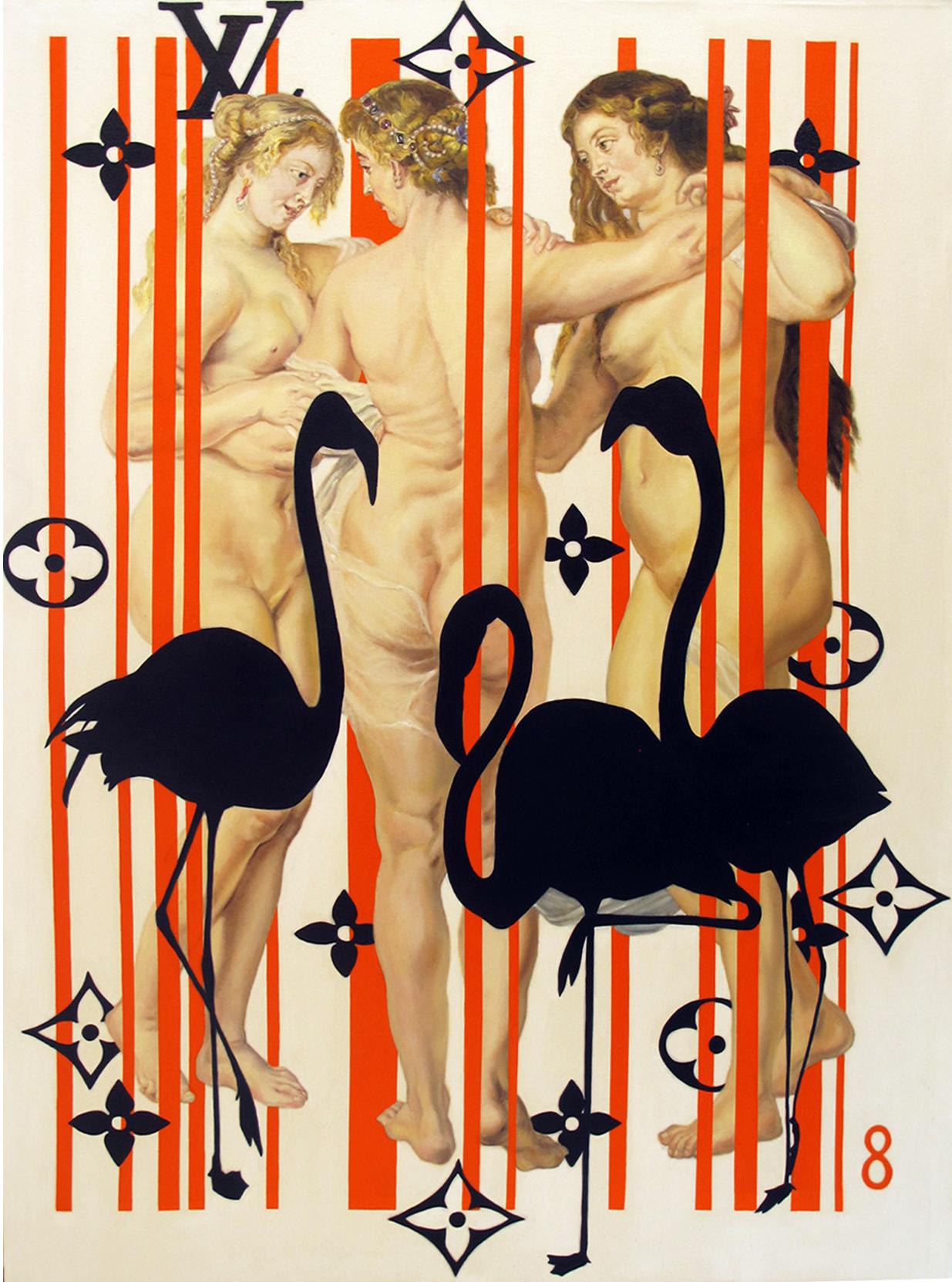 16.Three Graces 2, 160x 120cm, oil on canvas.jpg