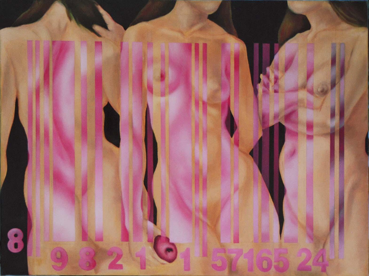 6-üçgüzeller1 ,three graces,las tres graices100x81 tuv.üst.yboya, oil on canvas,óleo sobre tela.jpg