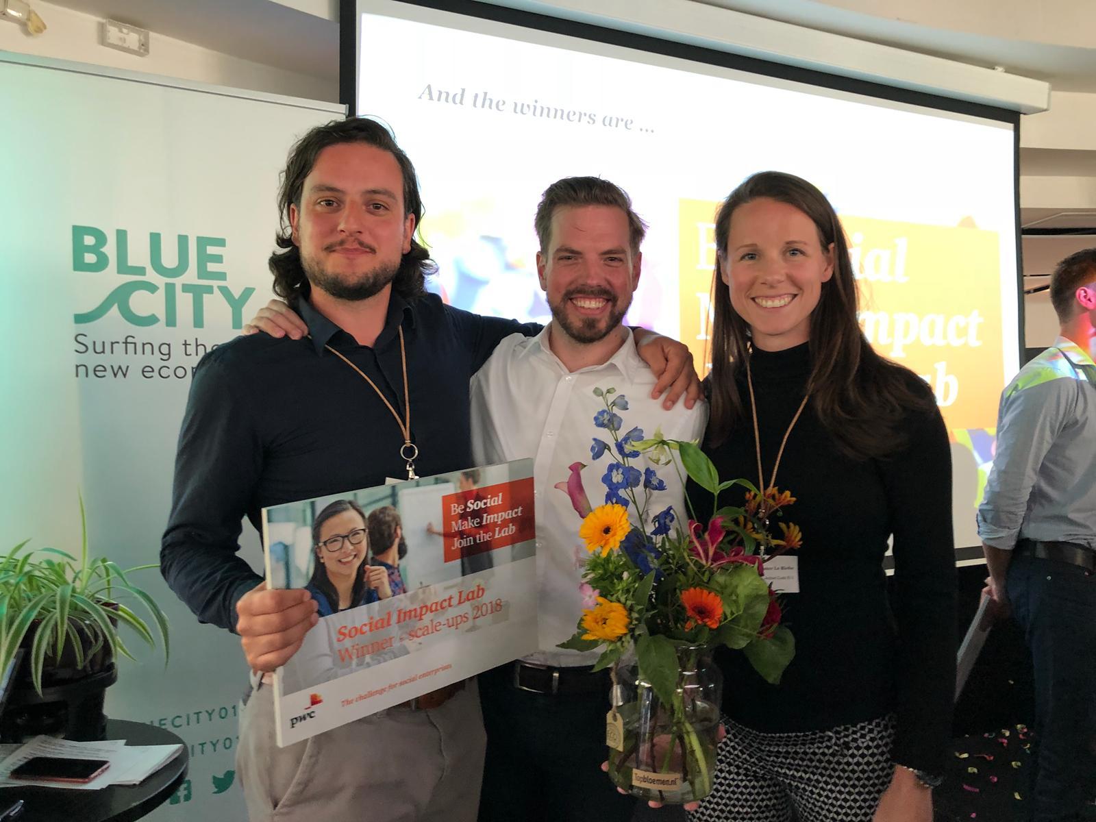 PwC Social Impact Lab winnaar