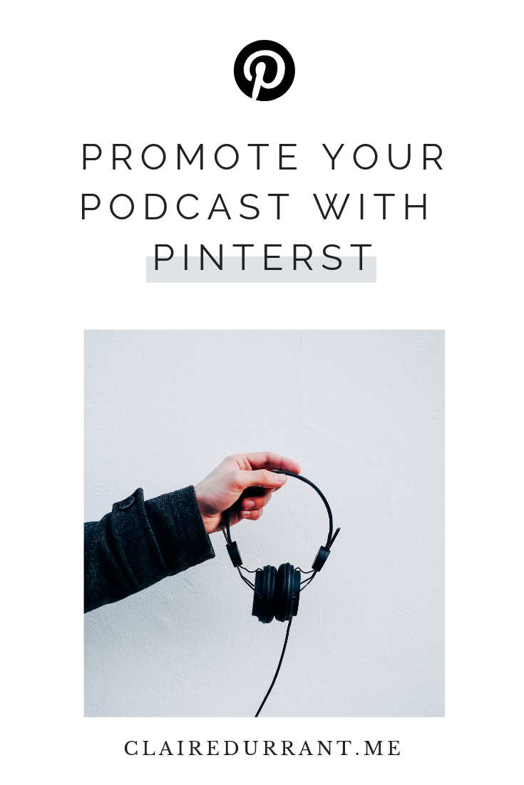 Promote a podcast with Pinterest marketing