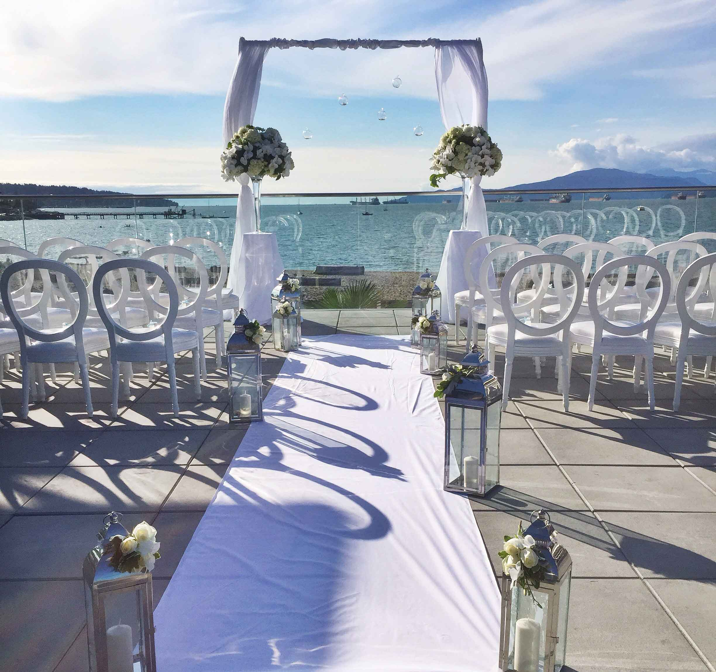 Wedding-ceremony-decor-Boathouse-Vancouver