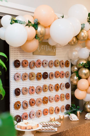 Engagment-party-donut-wall-Vancouver