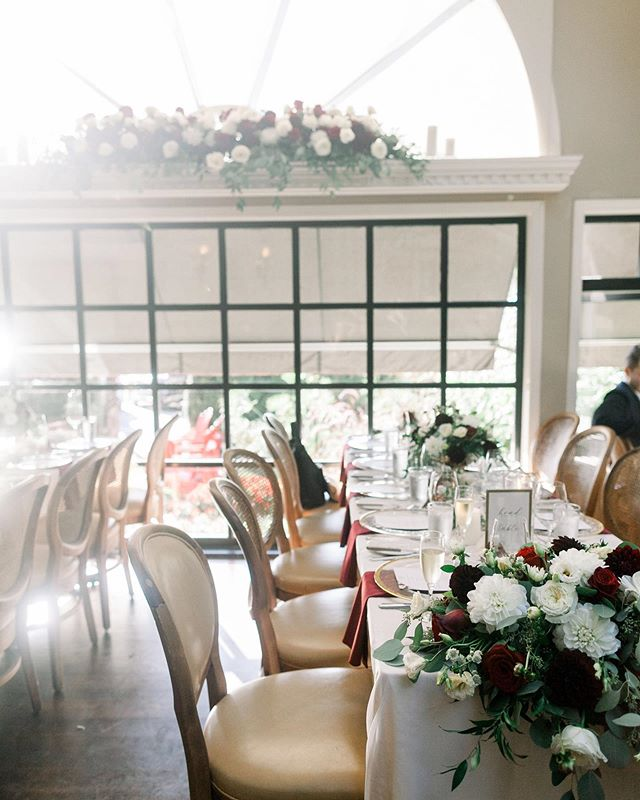 When the light hits just right ✨ We loved being part of R&K's intimate wedding working alongside some of our favourite #eventprofs to wrap up the 2019 season! Gorgeous capture thanks to @nomo.simplysweetphotography . Photography: @nomo.simplysweetphotography  Venue: @the_teahouse  Decor & Florals: @taffetedesigns . . . #burgundywedding #yvrwedding #eventdesign #eventdecor #flashesofdelight #fallwedding #vancouvereventprofessional