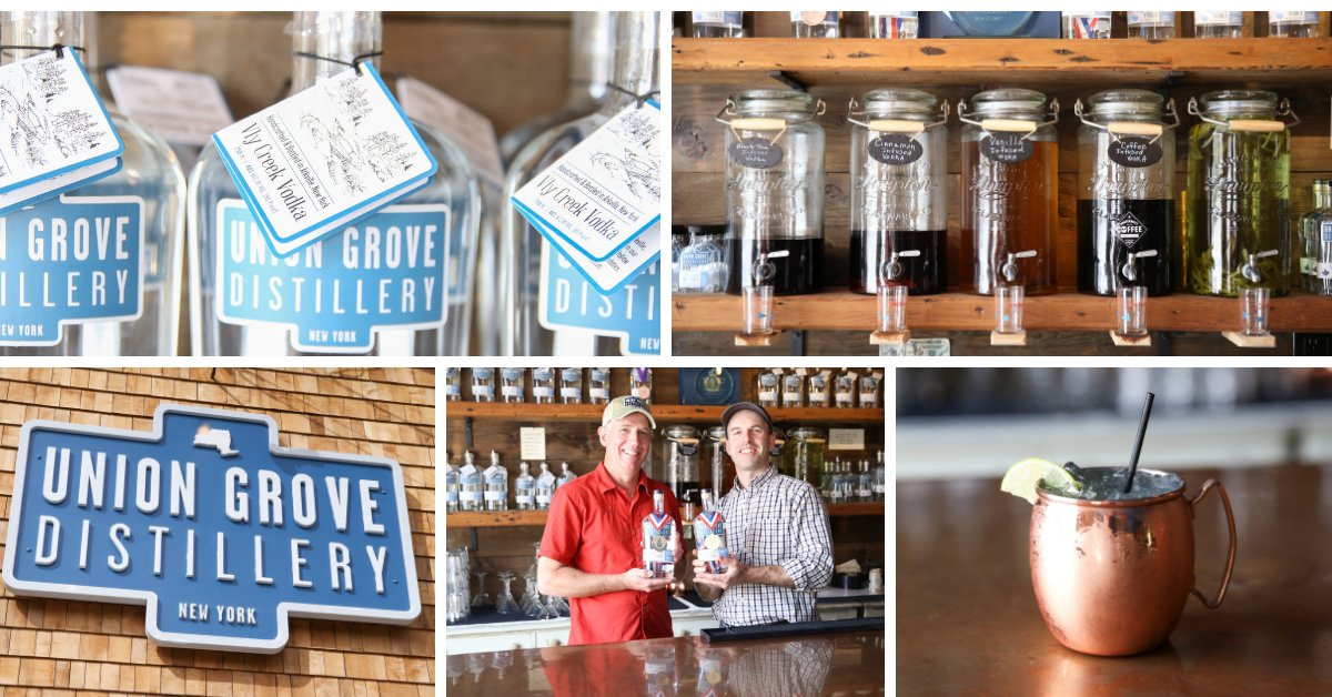 Award-winning vodka and more at Union Grove in Arkville.