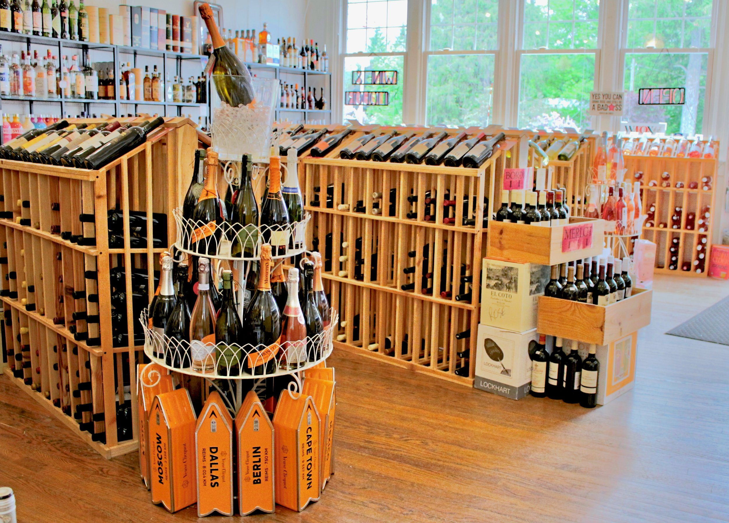Celebrate your trip to the Catskills - lots of bubbly awaits you at Roxbury Wine & Spirits!