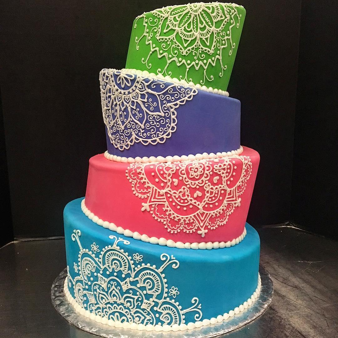 Wedding Cake Photos Starry Night Bakery
