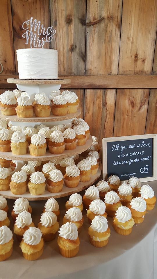Gluten Free Cupcake Display