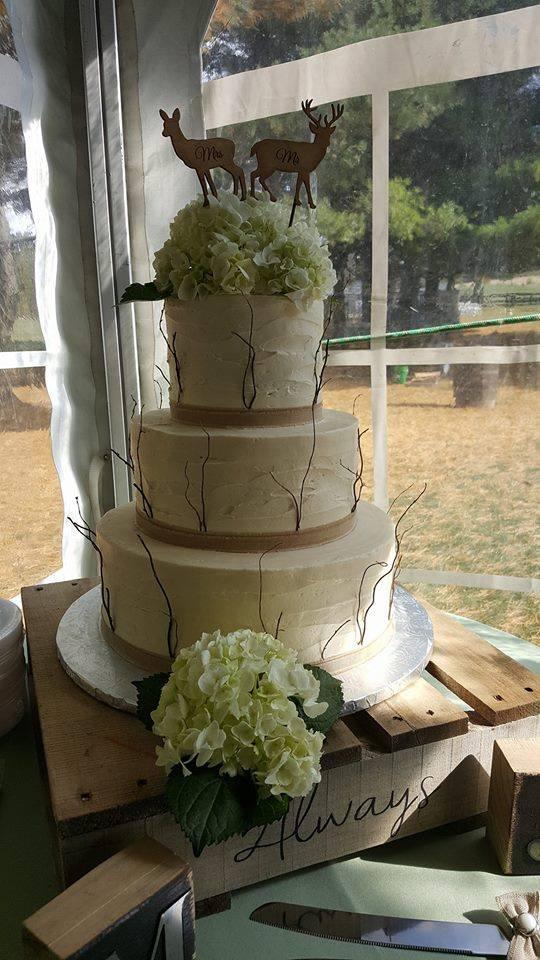 Twiggy Wedding Cake