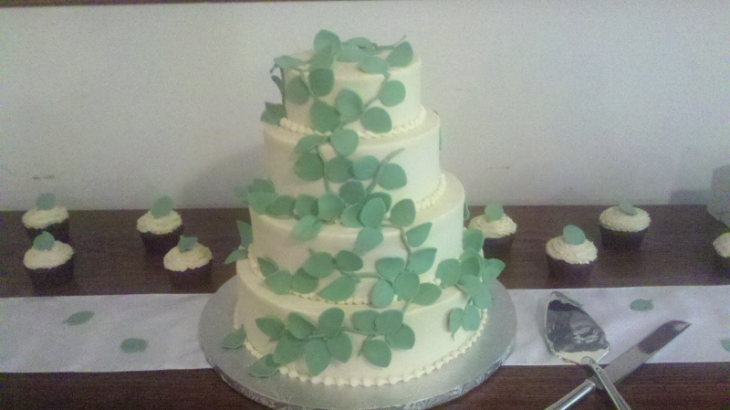 Vines Wedding Cake