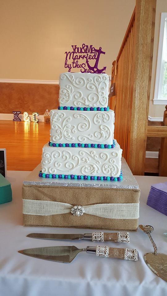 Set Sail Wedding Cake