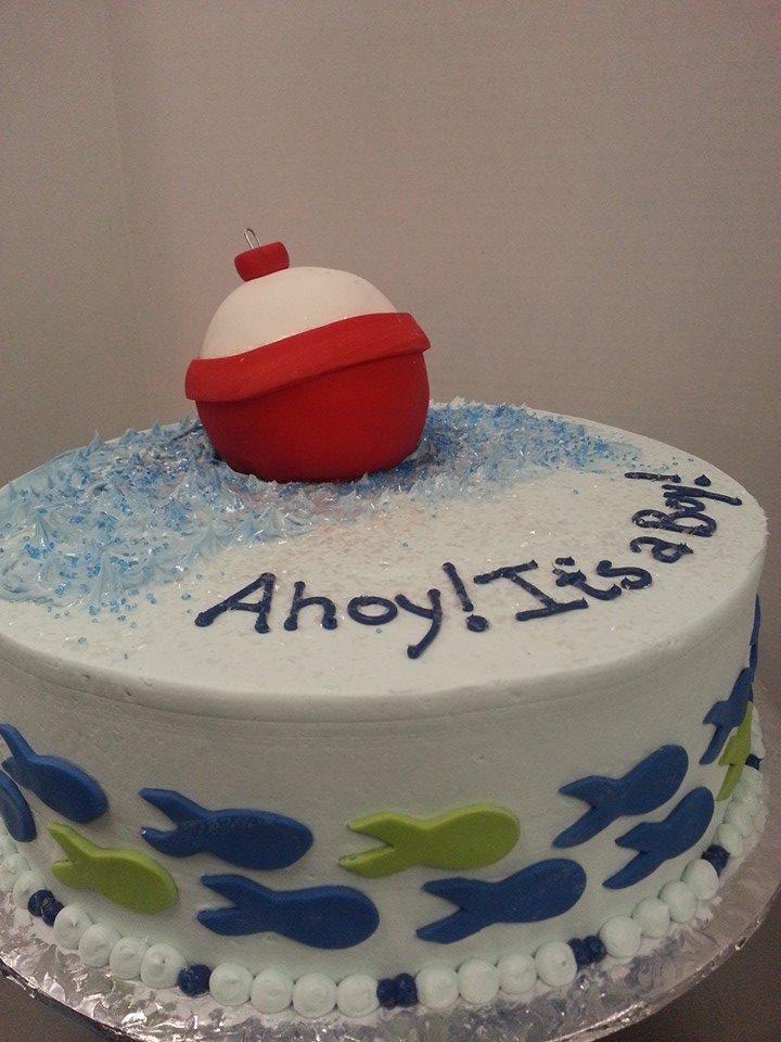 Ahoy! Baby Shower Cake 1