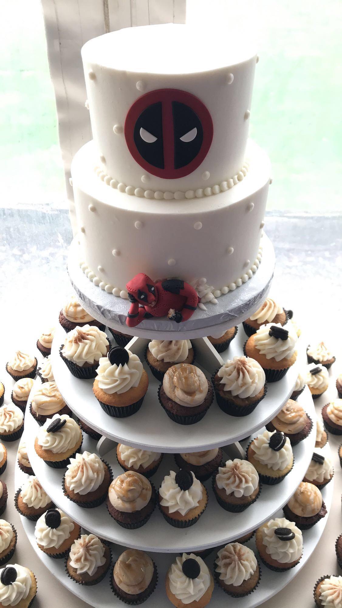 Deadpool Wedding Cake