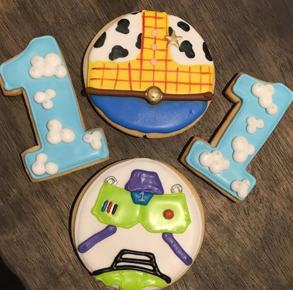 Toy Story 1st Birthday Cookies