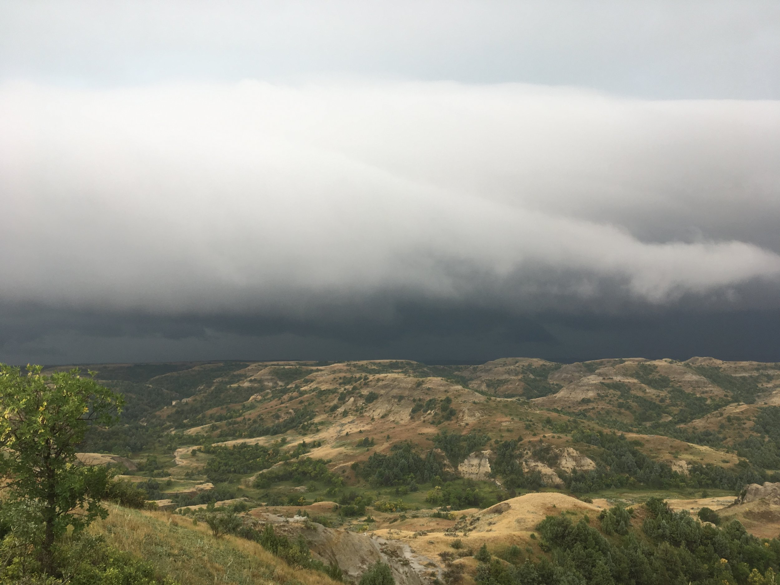 Terrifying Storm Front
