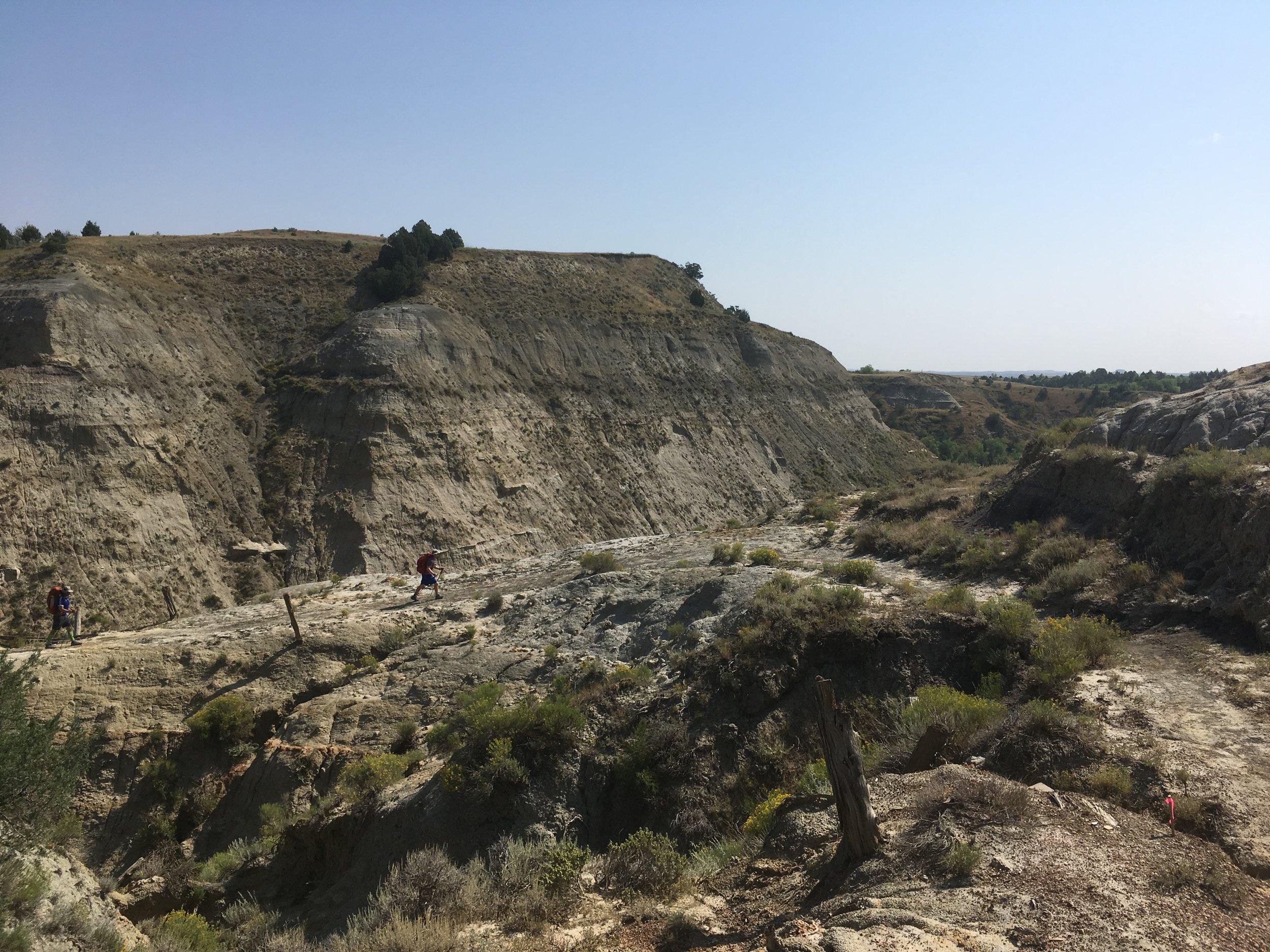 Rounding a Ridge Crossing