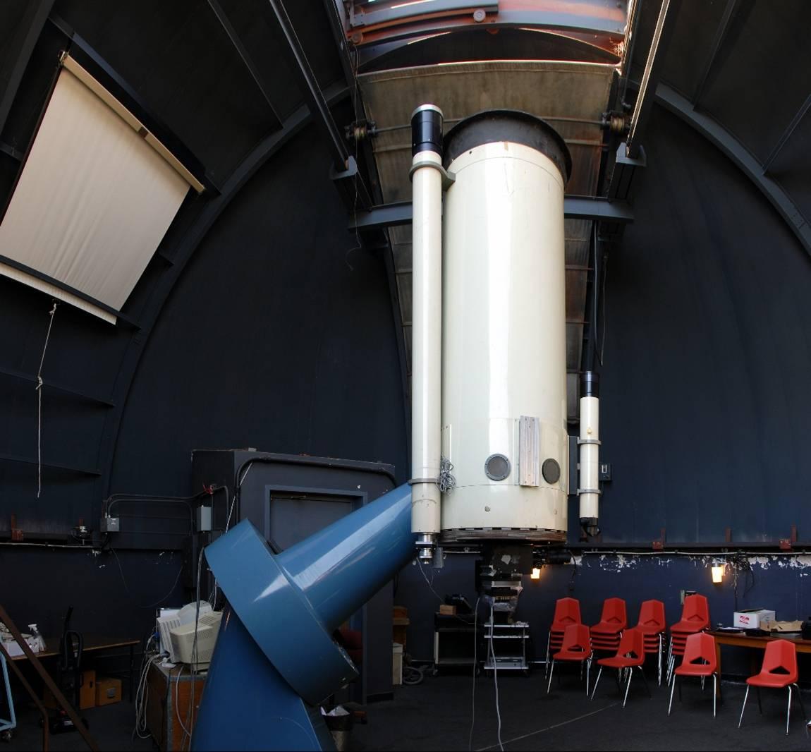 Morehead Observatory's 24-inch diameter telescope.