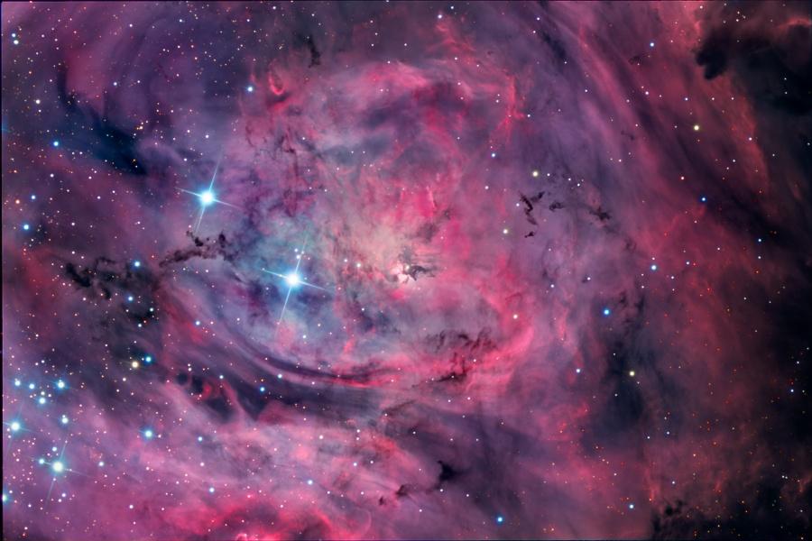 M8: The Lagoon Nebula