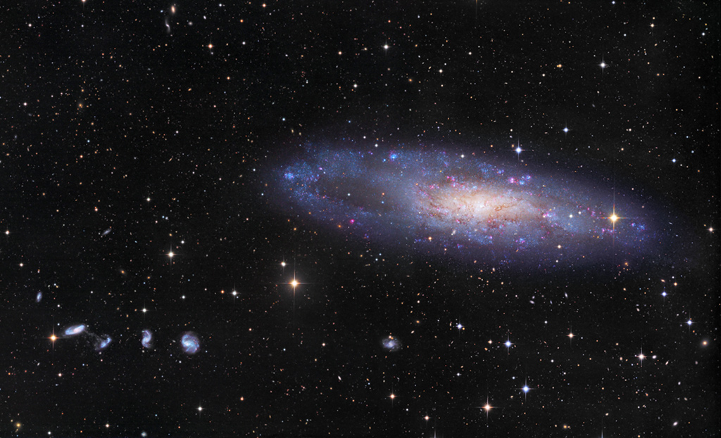 NGC 247 and Friends