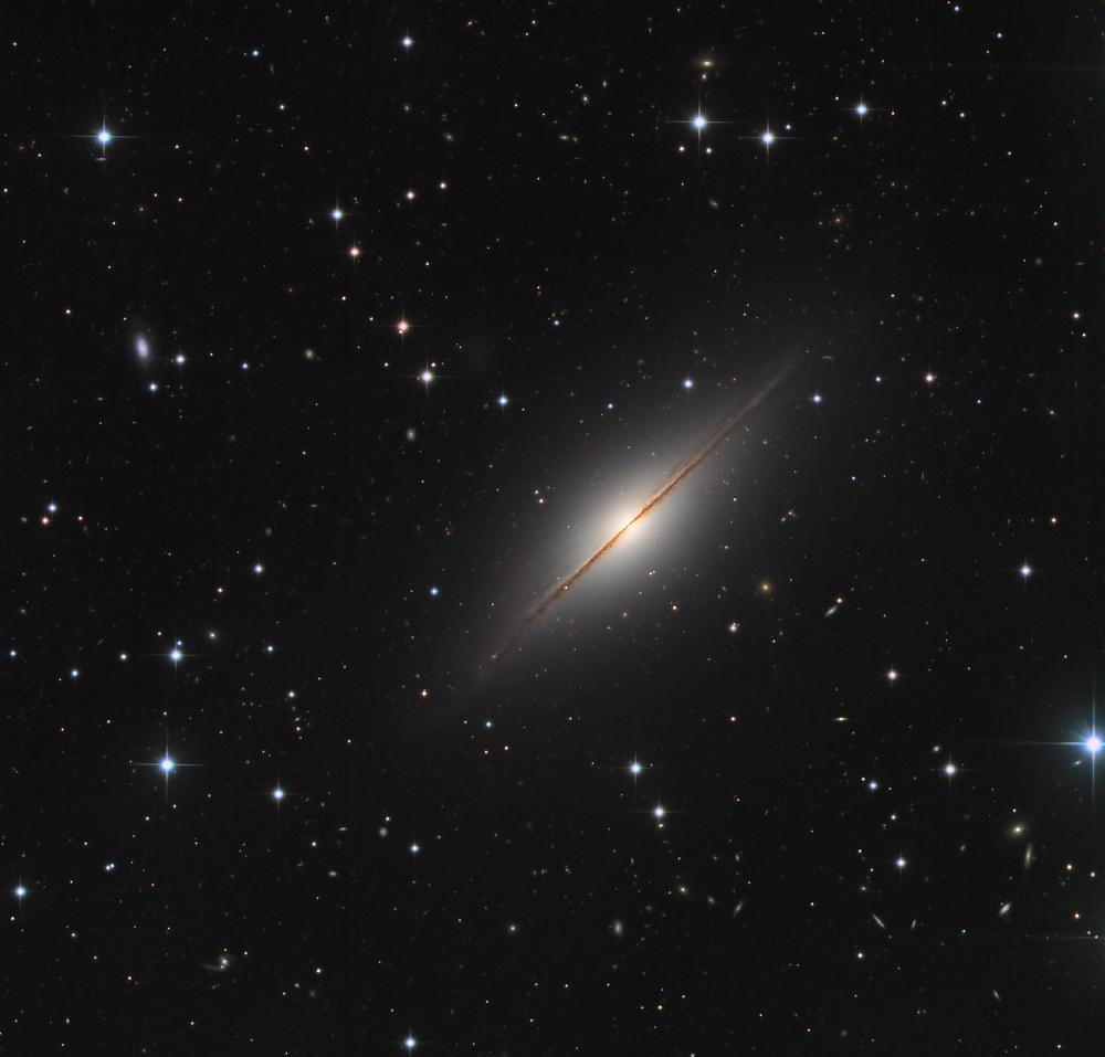 NGC 7814: The Little Sombrero in Pegasus